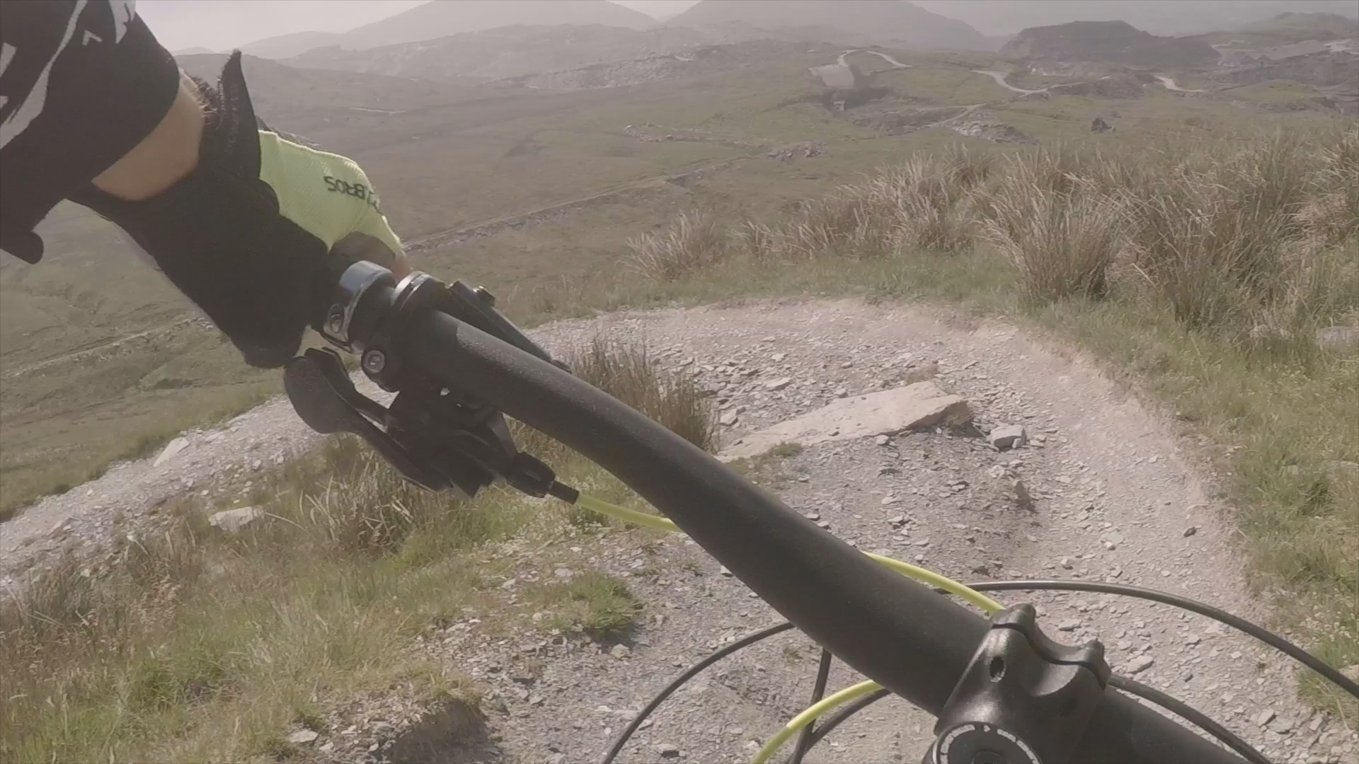 The beauty of Wales- Perfect place for adrenaline Junkies- Downhill ride MTB